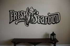 Fresh Seafood Lobster Vinyl Wall Sticker Decal - $29.99