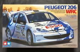 Tamiya 1/24 Peugeot 206 WRC Peugeot 206 WRC model Kit - $51.71
