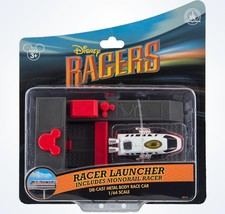 disney parks racers monorail die cast metal body and launcher new with box - $17.09