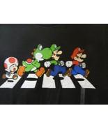 Nintendo Men's T-Shirt Graphic Tee Super Mario Black Available Sizes S M... - $16.10