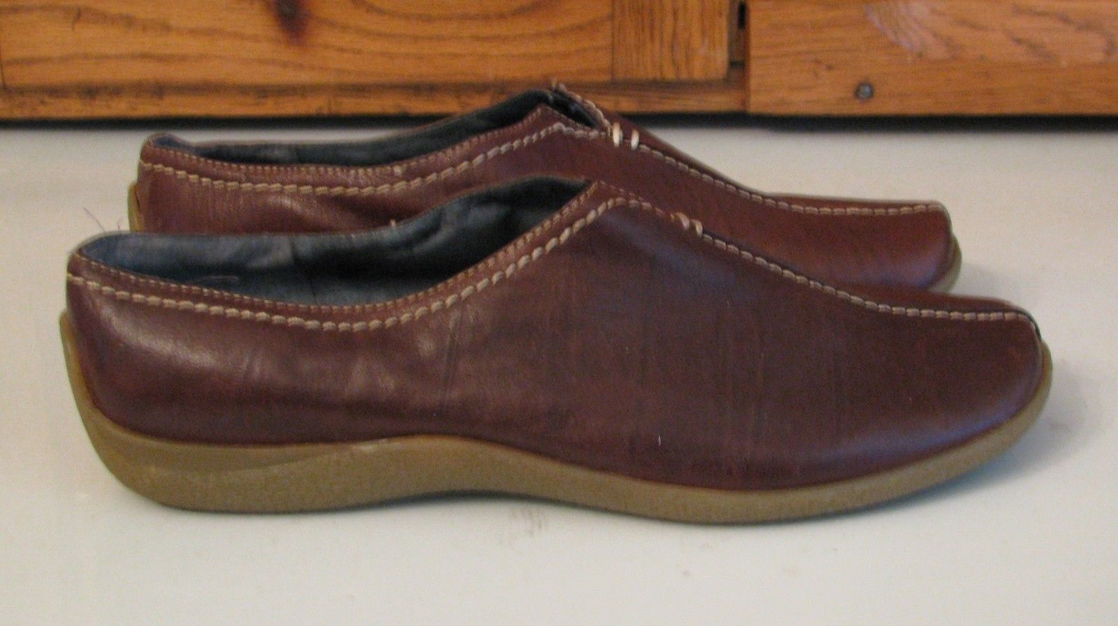 523f08ed075 Aerosoles Wearever Brown Leather Loafers and 27 similar items. S l1600