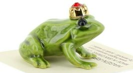 Birthstone Frog Prince July Simulated Ruby Miniatures by Hagen-Renaker image 6