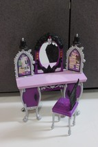 Monster High Every After High Doll House Furniture Bedroom Vanity and chair - $11.87