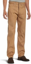 LEVI'S 501 MEN'S ORIGINAL FIT STRAIGHT JEANS BUTTON FLY TABACCO 44WxL30