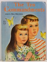 The Ten Commandments Mary Alice Jones Junior Elf Book - $2.99