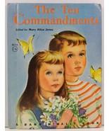 The Ten Commandments Mary Alice Jones Junior Elf Book - $2.99