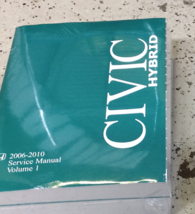2006 2007 2008 2009 2010 Honda CIVIC HYBRID Shop Repair Service Manual S... - $49.45