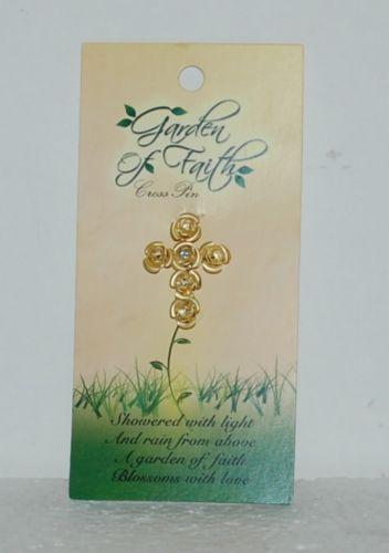 DM Merchandising Garden Of Faith Little Yellow Roses Pin