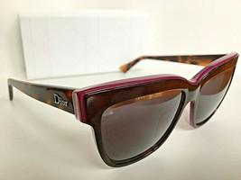 New Christian DIOR Graphic  3C45S Tortoise Cats Eye Women's Sunglasses Italy - $399.99
