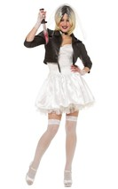 Disfraz Cultura Franco Novia de Chucky Niños Play Disfraz Halloween 48493 - $44.41