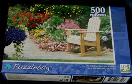 BRAND NEW FACTORY SEALED 500 PiecePuzzlebug Jigsaw Puzzle, Afternoon in ... - $5.93