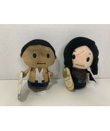 Hallmark Itty Bittys Star Wars Kylo Ren Finn lot 2 small plush toys Disney - $19.79