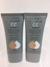 (2) Almay 300 Medium Smart Shade CC Creme Complexion Corrector Concealer 1oz - $12.82