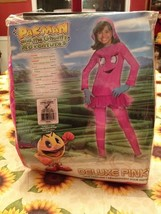 Rubies Pac-Man Pinky & The Ghostly Adventures Deluxe Costume Complete Brand New - $11.99