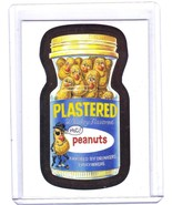 """2014 Wacky Packages Chrome Series 1 """"PLASTERED PEANUTS"""" #49 Refractor Card - $1.00"""