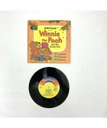 Winnie the Pooh and the Honey Tree book record Disneyland records 1966 3... - $20.00