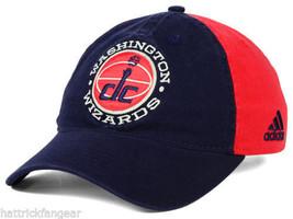 Washington Wizards - Adidas Nba Xp Adjustable Basketball CAP/HAT - Osfm - $18.99