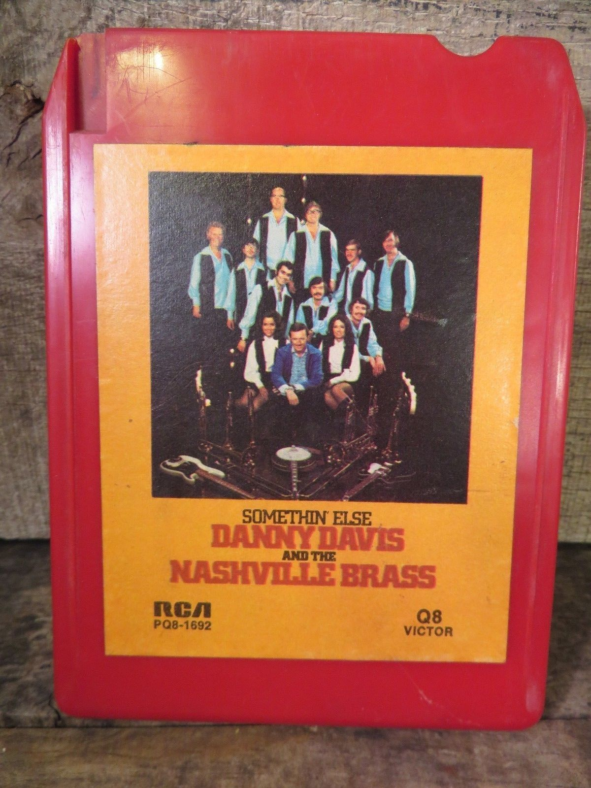 Primary image for Danny Davis Nashville Messing Somethin Else (8-Track Band, PQ8-1692) Quadrofonie