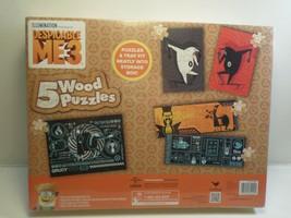Despicable Me 3  Wood Puzzles     5 Puzzles               Ages 3+ - $12.95