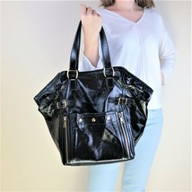 YSL Downtown Black Patent Leather Bag - $499.00