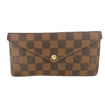 LOUIS VUITTON N63097 Damier Portofeuil Origamiron wallet Used Excellent ... - $763.50