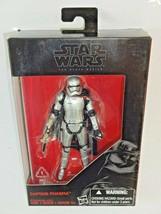 "Hasbro LFL Star Wars Black Series Captain Phasma 3.75"" Action Figure B77... - $10.34"