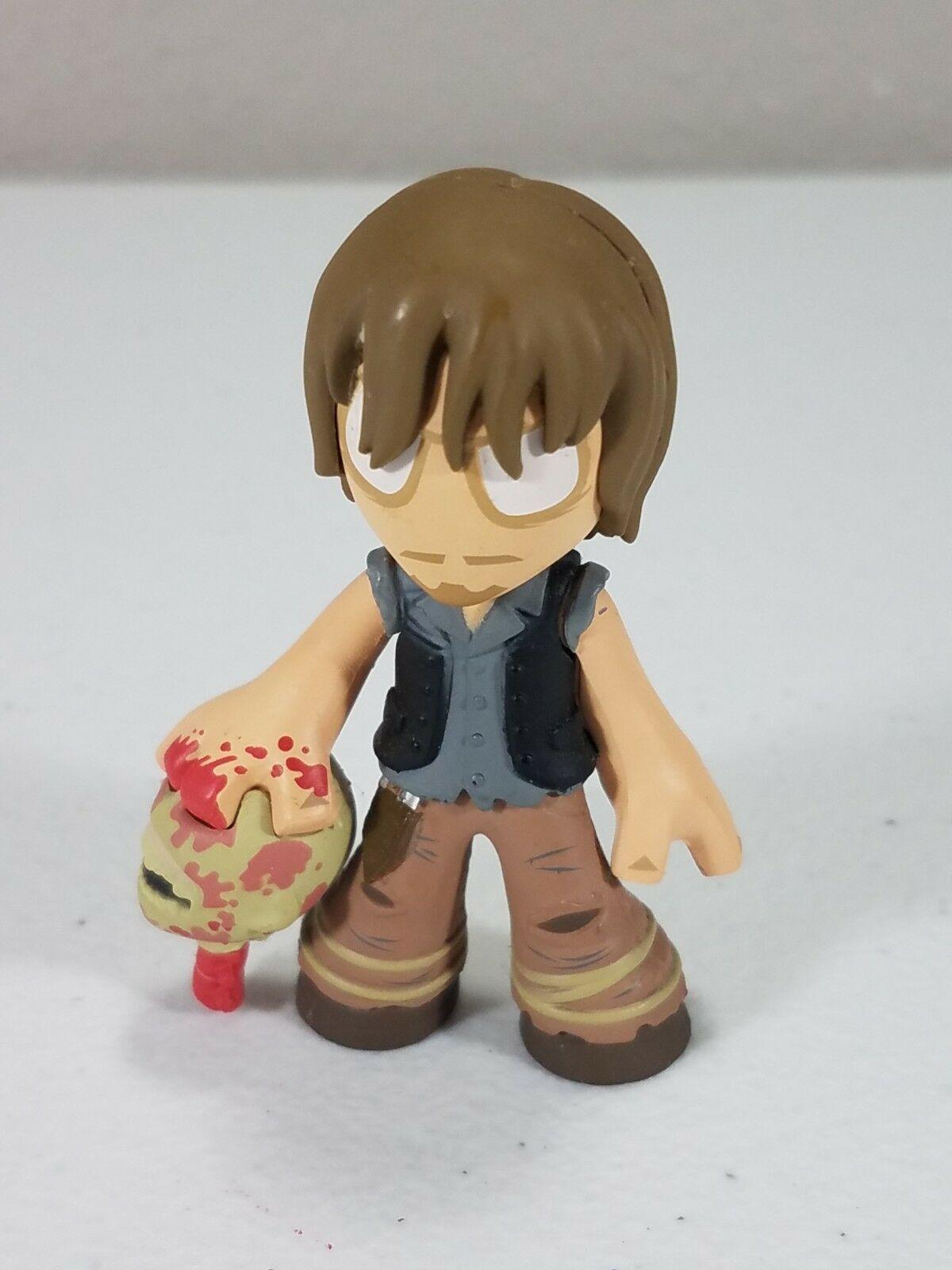 Walking Dead Daryl Dixon with Walker Head Walmart Excl. - Funko Mystery Minis