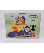 Etna Products 5 Pc Soft Plush My Choo Choo Train Set With Sounds - New - $19.99