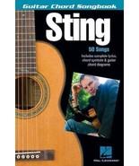 Sting: Guitar Chord Songbook - $14.99