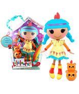 """NEW HOT Lalaloopsy 12"""" Tall Button Rag Doll Feather Tell-a-tale+ pet Tot... - $77.99"""