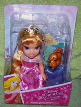 "My First Disney Petite Aurora 6"" Doll & Squirrel New - $16.50"