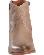 Frye Women's Reina Ash Grey Leather Western Ankle Bootie 3479258-ASH NIB image 5