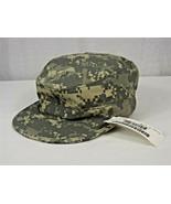 NEW US ARMY PATROL CAP DIGITAL CAMOUFLAGE HAT, SPM1C1-09-D-0020, 7-1/8, NEW - $15.00