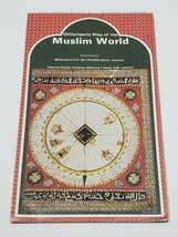 Vtg Geo Projects Full Color Folding Map of the Muslim World 1980 Lebanon... - $24.18