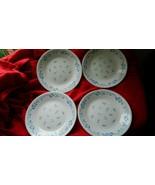 CORELLE PROVINCIAL BLUE BREAD/DESSERT PLATES  x 4 BRAND NEW FREE USA SHI... - $26.17