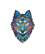 """Unidragon Wooden Jigsaw Puzzles """"Majestic Wolf"""" Wooden Puzzles for Adults - $59.99+"""