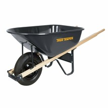 True Temper R625 6 Cubic Foot Steel Wheelbarrow - $134.21