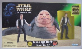 Jabba the Hutt and Han Solo Power of Force Star Wars a new Hope - $73.75