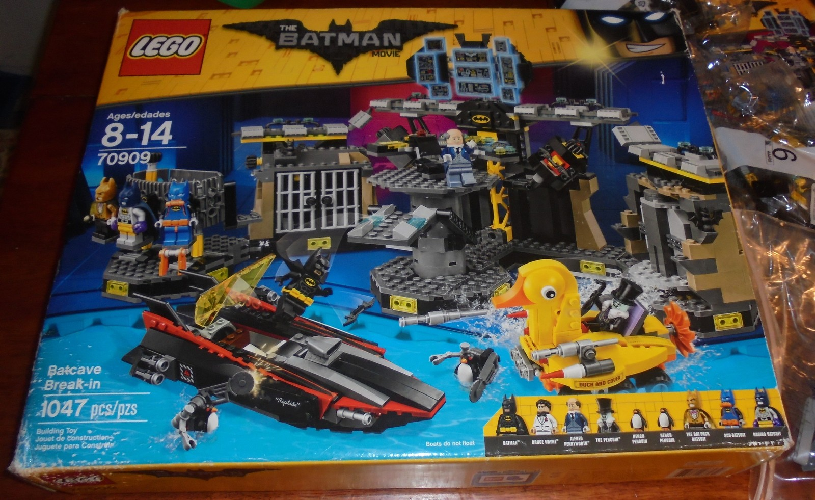LEGO Batman Movie Batcave Break-in (70909) Building Set [Used READ Open Box]