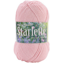 Mary Maxim Starlette Yarn-Pale Petal Pink - $7.36
