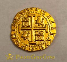 """PERU 1708 8 ESCUDOS """"1715 FLEET"""" 22kt SOLID GOLD DOUBLOON COB TREASURE C... - $1,995.00"""