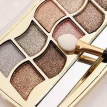 Professional Eye Makeup 12 Colors Eyeshadow Palette Gold Smoky Cosmetics... - $5.99