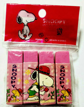 SNOOPY Eraser Old Pink Cute Old Retro Rare - $15.80