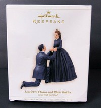 Hallmark Keepsake Ornament 2006 Scarlett O'Hara Rhett Butler Gone With T... - $25.73