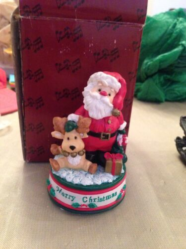 Primary image for San Francisco Music Box Co Merry Christmas Mini Figurine 31-29230-6-00 Christmas