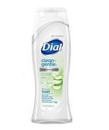 Dial Clean + Gentle Hypoallergenic Body Wash, Aloe, 21 Fl Oz - $8.95