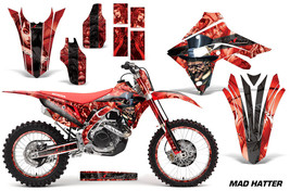 Graphics Kit Decal Sticker Wrap + # Plates For Honda CRF450R CRF450RX 17... - $294.26