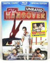 The Hangover Blu-ray DVD Movie Bluray Disc 2009 Unrated Bradley Cooper H... - $3.95