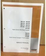 CASE SR175 ALPHA SERIES SKID STEER LOADER COMPLETE REPAIR SHOP SERVICE M... - $96.80+