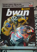 Moto GP Estoril Portugal 2006 Official Programme Valentino Rossi Tissot ... - $8.00